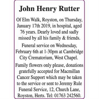 John Henry Rutter