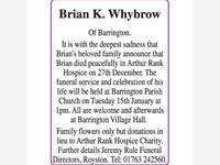 Brian K. Whybrow