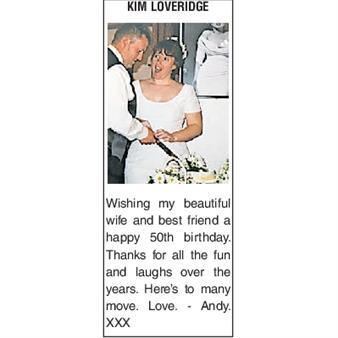KIM LOVERIDGE