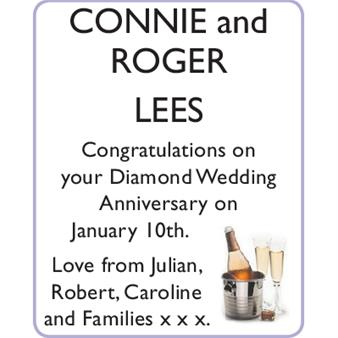 CONNIE and ROGER LEES