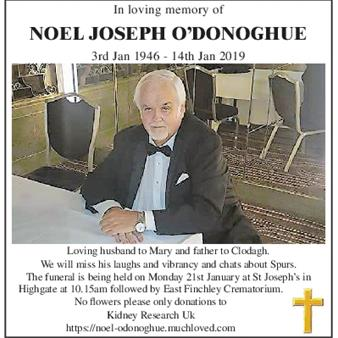 Noel Joseph O'Donoghue
