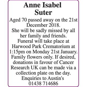 Anne Isabel Suter