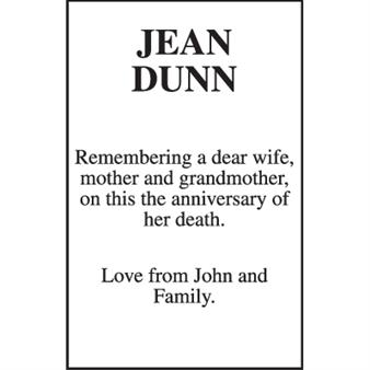 JEAN DUNN