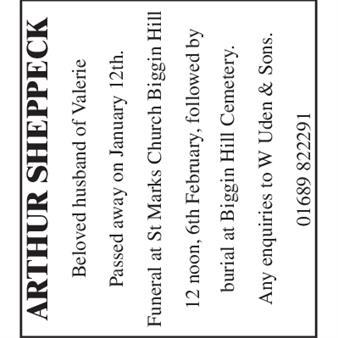 Arthur Sheppeck