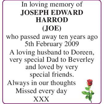 JOSEPH HARROD