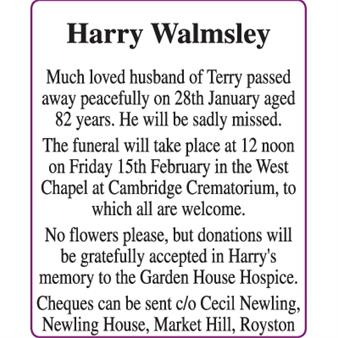 Harry Walmsley
