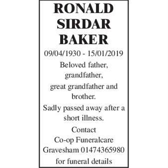 Ronald Sirdar Baker
