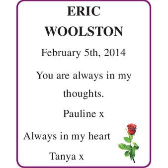 ERIC WOOLSTON