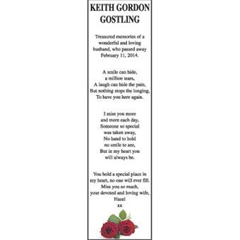Keith Gordon Gostling