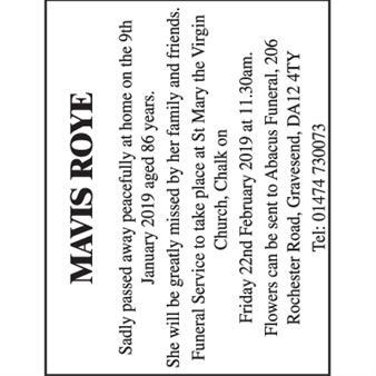 Mavis Roye