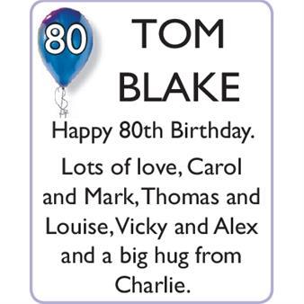 TOM BLAKE
