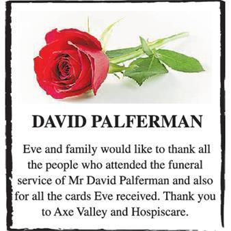 DAVID PALFERMAN
