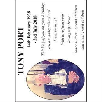 TONY PORT