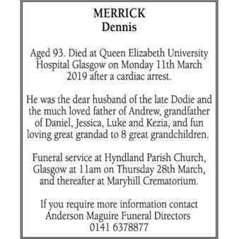 Dennis Merrick