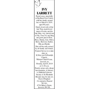 IVY LARRETT