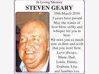 Steven Geary