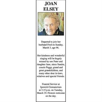Joan Elsey