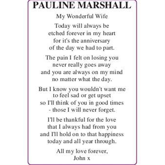 Pauline Marshall