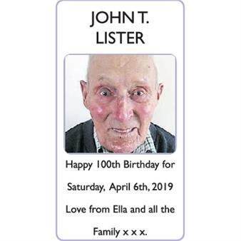 JOHN T. LISTER