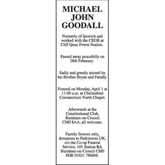 Michael John Goodall