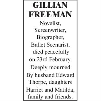 Gillian Freeman
