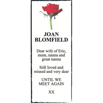 Joan Blomfield