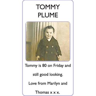 TOMMY PLUME