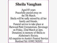 Sheila Vaughan