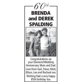 BRENDA and DEREK SPALDING