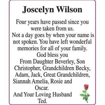 Joscelyn Wilson