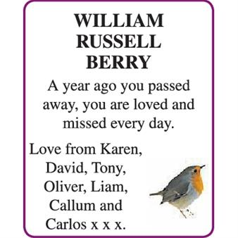 WILLIAM RUSSELL BERRY