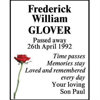 Frederick William Glover