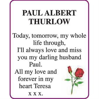 PAUL ALBERT THURLOW