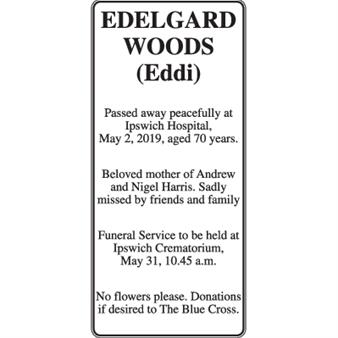 "Edelgard Woods ""Eddi"""