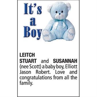 STUART and SUSANNAH LEITCH