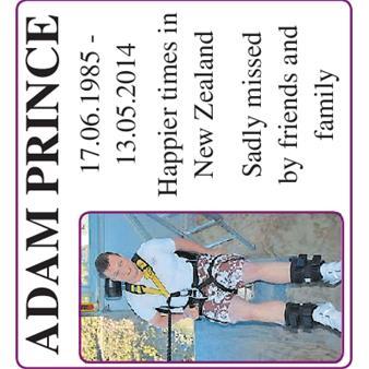 ADAM PRINCE