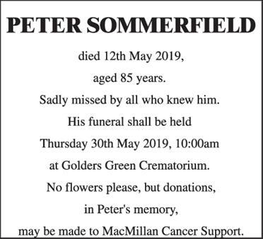 Peter Sommerfield