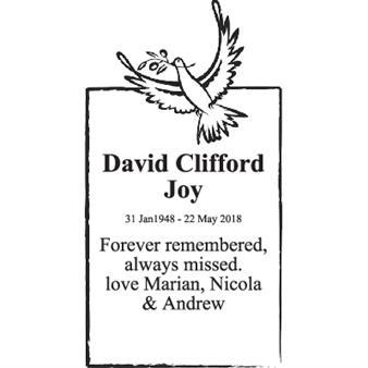 David Clifford Joy