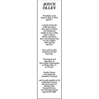 JOYCE  OLLEY