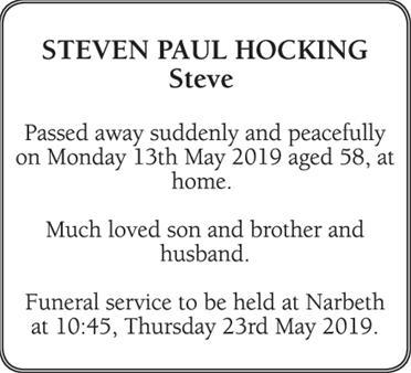 Steven Hocking