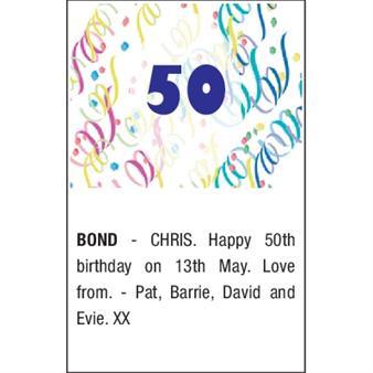 CHRIS BOND