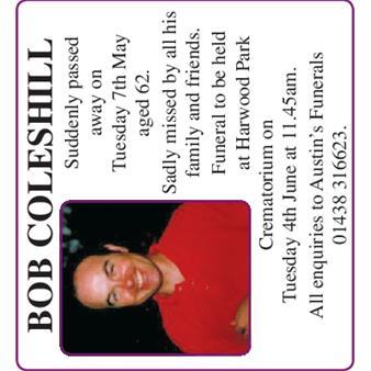 Bob Coleshill