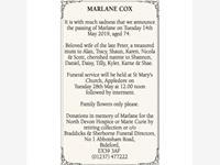 Marlane Cox