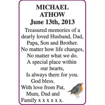 MICHAEL ATHOW