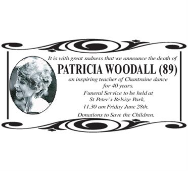 Patricia Woodall