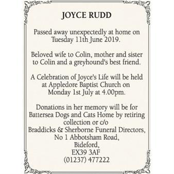 Joyce Rudd
