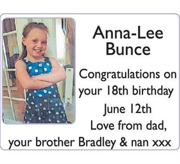 Anna-Lee Bunce