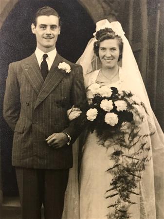 Adrian and Daphne Wilson Wedding Day