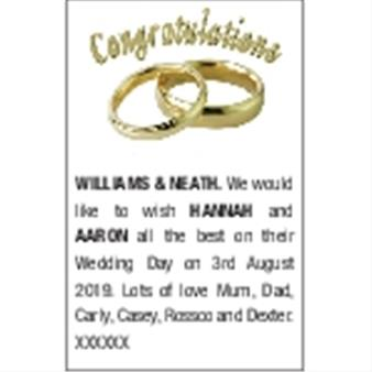 WILLIAMS & NEATH HANNAH and AARON