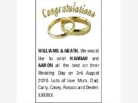 WILLIAMS & NEATH HANNAH and AARON